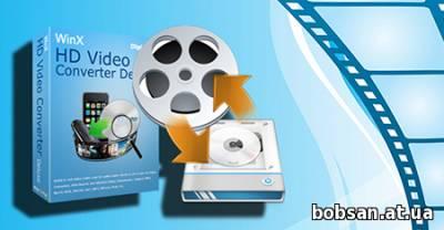 screen WinX HD Video Converter Deluxe