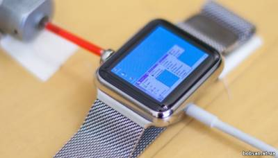 screen Windows 95 на Apple Watch